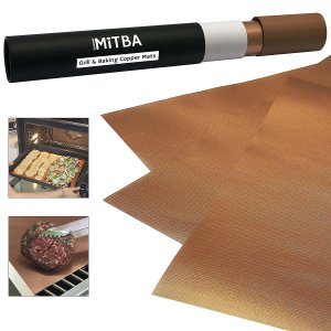 Copper Grill Mats by MiTBA – Best Baking