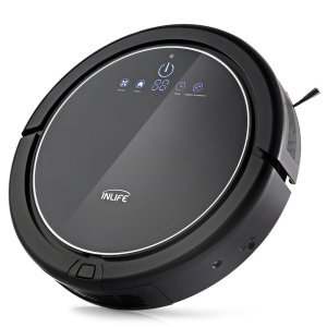 INLIFE Robotic Vacuum Cleaner Self-Charging Floor Cleaner