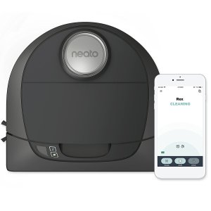 Neato Botvac D5 Connected Navigating Robot Vacuum, Pet & Allergy