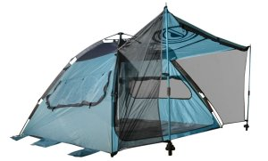 Quick-Up Cabana Style XL Beach Tent– 2 in 1 Sun Canopy And Summer Shelter