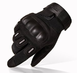 TitanOPS Full Finger and Half Finger Hard Knuckle Motorcycle Military Tactical Combat Training Army Shooting Outdoor Gloves