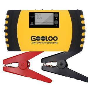 GOOLOO 1000A Peak 20800mAh SuperSafe Car Jump Starter