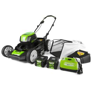 Greenworks PRO 21-Inch Electric Lawn Mower