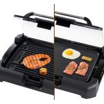 Secura GR-1503XL 1700W Electric Reversible 2 in 1 Grill Griddle