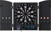Fat Cat ElectronX Electronic Soft Tip Dartboard with Cabinet