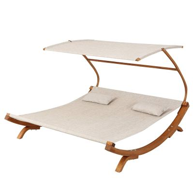 Great Deal Furniture Outdoor Patio Lounge Daybed Hammock