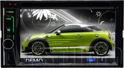 Kenwood DDX6 703S Double-Din Touch Screen Car Stereo
