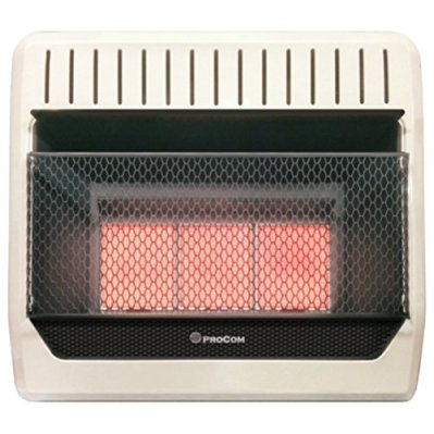 ProCom MG3TIR Ventless Dual Fuel Wall Heater