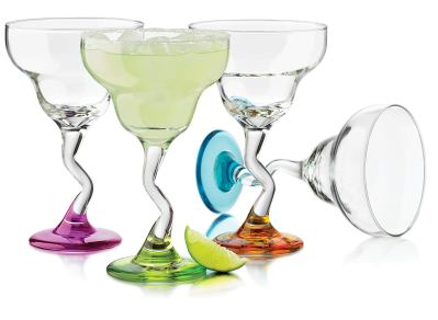 Libbey Colors Margarita Glass Set
