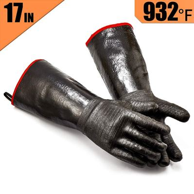 RAPPICA Griller BBQ Waterproof Oil and Heat Resistant Insulated Cooking Gloves