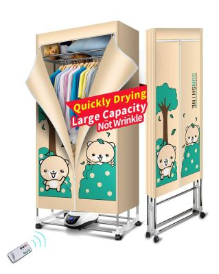 Kasydoff Portable Clothes Dryer 3-Tier Foldable Clothes Drying Rack Energy Saving