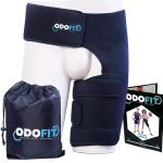 ODOFIT Unique Support Brace for Groin Hip Quadricep Thigh Wrap