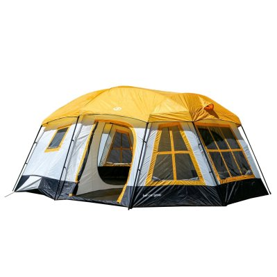 Tahoe Gear Ozark 3-Season 16 Person Large Family Cabin Tent