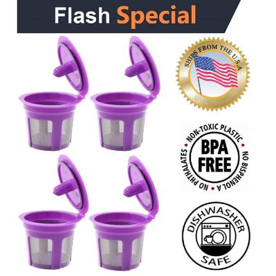 Fill N Save 4 Reusable K Cups