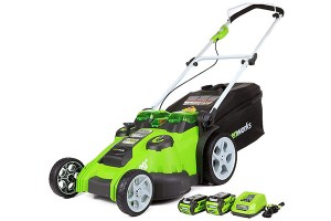 Greenworks 20-Inch 40V Twin Force Cordless Lawn Mower 25302 Review