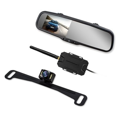AUTO-VOX Wireless Backup Camera Mirror