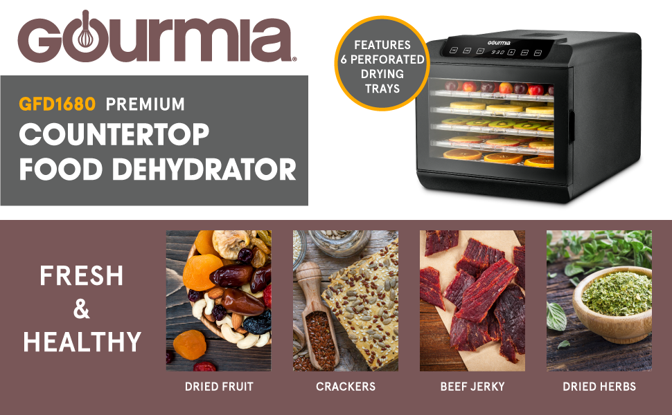 Gourmia Food Dehydrators Review