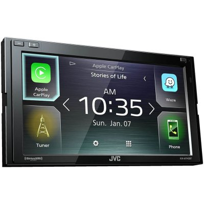 JVC KW-M740BT Apple CarPlay Android Auto 2-DIN AV Receiver