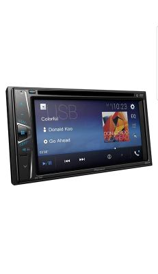 Pioneer AVD-110 BT Double DIN 6.2 Touchscreen Car Stereo Receiver