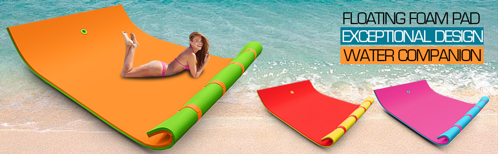 15 Best Floating Water Mats & Water Pads for Water