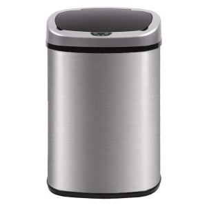 Kitchen Trash Can Automatic Touch Free High-Capacity