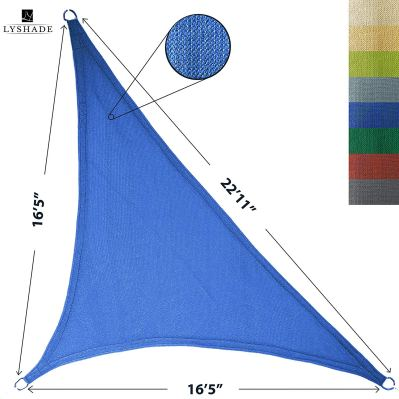 LyShade Right Triangle Sun Shade Sail Canopy