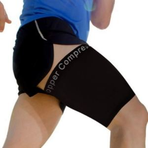 Copper Compression Recovery Thigh Sleeve