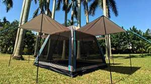 Hasika All-Weather Diversified Instant Screened Canopy