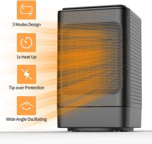 Oscillating Space Heater