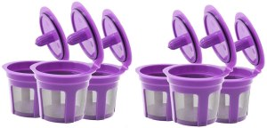 Fill N Save 6 Reusable K Cups