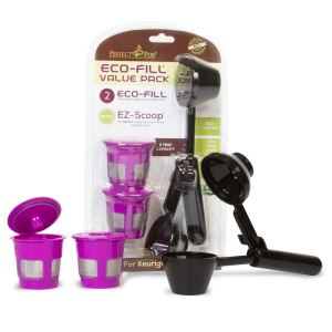 Perfect Pod ECO-Fill Reusable K-Cup Pod Filters and Coffee Scoop