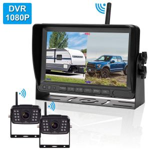 FHD 1080P Digital Wireless 2 Backup Camera