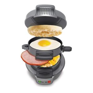 Hamilton Beach Breakfast Sandwich Maker 150 Breakfast Sandwiches Recipe Book