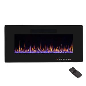 R W FLAME Wall Mount Electric Fireplaces