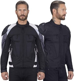 Viking Cycle Asger Textile Motorcycle Biker Jacket