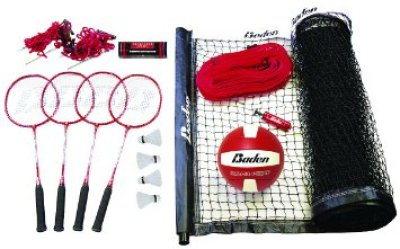 3. Baden Champions Badminton Volleyball Set