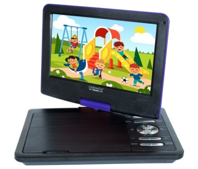 7. Cinematix Portable DVD Player