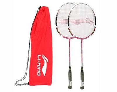 8. Li-Ning Racket Smash Series Carbon Graphite Rackets