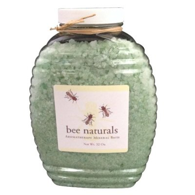 2 Best AromaTherapy Mineral Bath - All Natural Ingredients - Bath Salts & Essential Oils Formulation by Bee Naturals(32 Oz)
