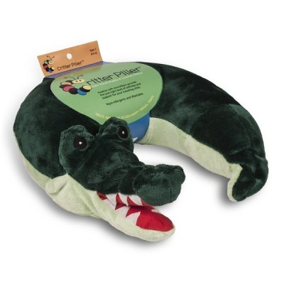 7. Critter Piller Kid's Neck Pillow