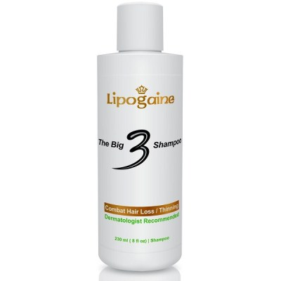 4. Lipogaine Big 3 Premium Hair Loss Prevention Shampoo