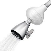 2. Cedar & Citrus CC22000002 Inline SPA Showerhead Filter & Water Softener