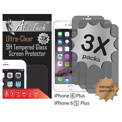 8. Alia Tech™ Anti-Spy Privacy Tempered Glass Screen Protector