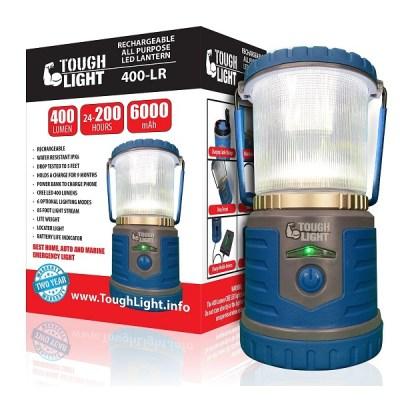 4. Tough Light LED Rechargeable Lantern