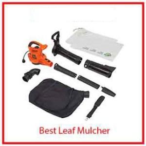 6) WBLACK+DECKER 3-in-1 Electric Leaf Blower & Mulcher with Leaf Vacuum Kit