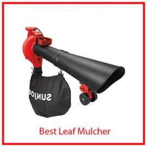 5) WSun Joe Electric Blower/Vacuum/Mulcher/ Gutter cleaner
