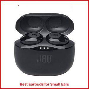 JBL JBLT120TWSBLKAM Earbuds for Small Ears