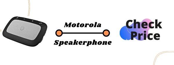 Motorola TX550 Sonic Rider Bluetooth Speaker for Car
