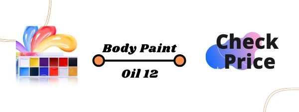 Charmcode Face Body Paint Oil 12 Colors