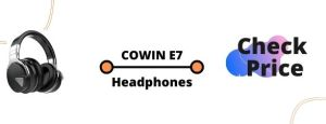 COWIN E7 Bluetooth Headphones with Microphone